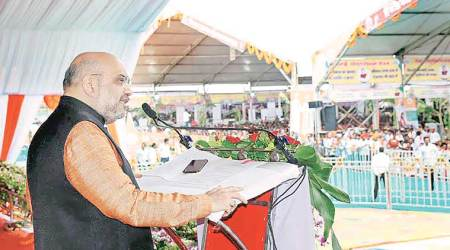 Rahul Gandhi must answer for four generations of misrule: Amit Shah in Chhattisgarh