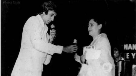 Amitabh Bachchan shares a lovely throwback photo with Jaya Bachchan on their wedding anniversary