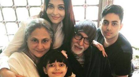 Aishwarya Rai sends Amitabh and Jaya Bachchan 'love, health and happiness' on their 45th wedding anniversary