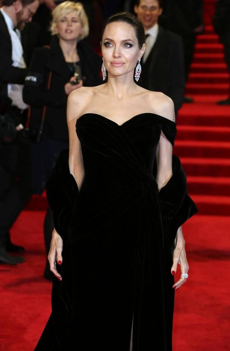Angelina Jolie, Ralph and Russo, Angelina Jolie Ralph and Russo, Angelina Jolie fashion, Angelina Jolie latest news, Angelina Jolie latest photos, Angelina Jolie updates, Angelina Jolie style, celeb fashion, hollywood fashion, indian express, indian express news