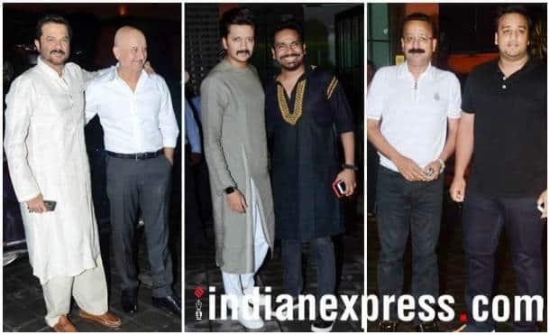 Anil Kapoor, Anupam Kher, Riteish Deshmukh
