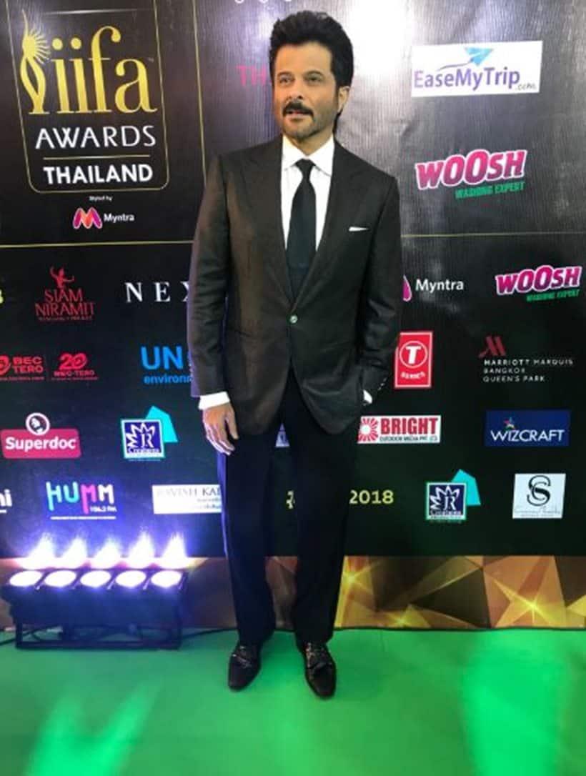 anil kapoor at iifa awards 2018