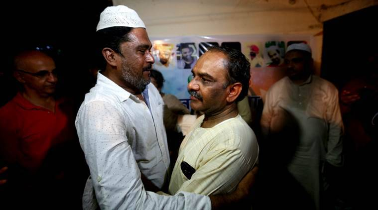 ankit saxena murder, ankit saxena's father, yashpal saxena iftar, ashish saxena, iftar party, delhi, delhi news, indian express news