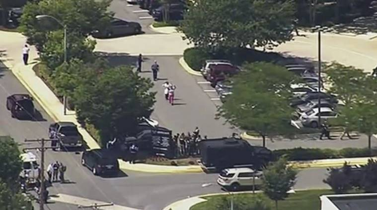 Multiple people shot at newspaper in Maryland