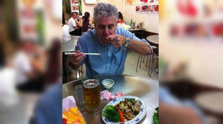 Anthony Bourdain, Anthony Bourdain last meal, Anthony Bourdain favourite food, Anthony Bourdain last supper, Anthony Bourdain sushi, Anthony Bourdain death, lifestyle news, food news, indian express