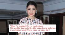 'Anushka, a little etiquette and politeness wouldn't have made u a lesser star': Man responds after actor scolded him for littering