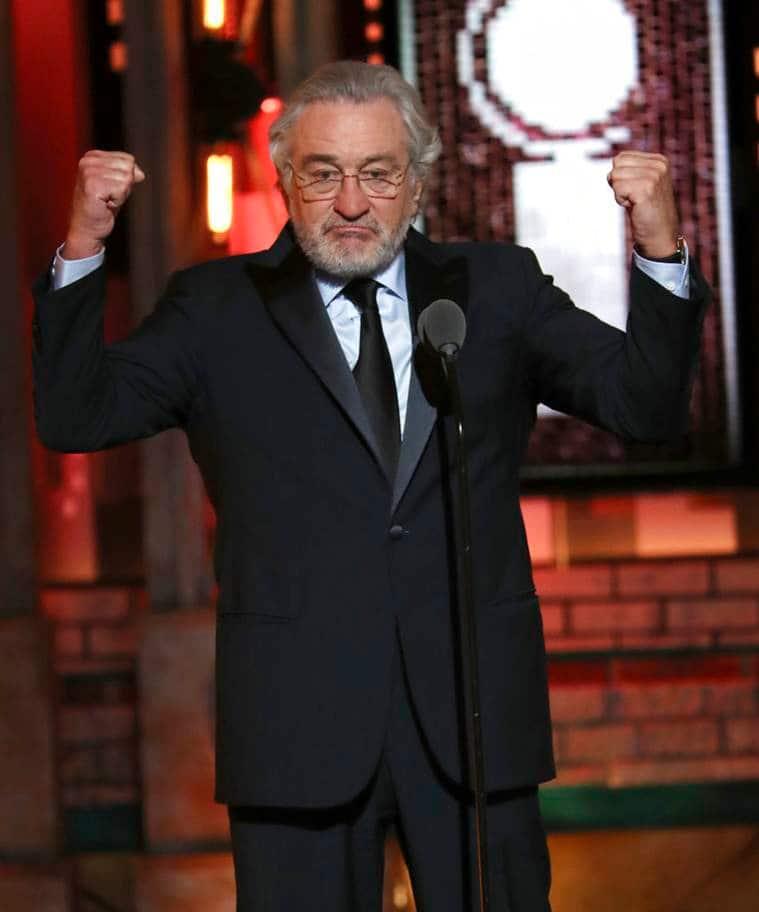 Robert De Niro at Tony Awards.