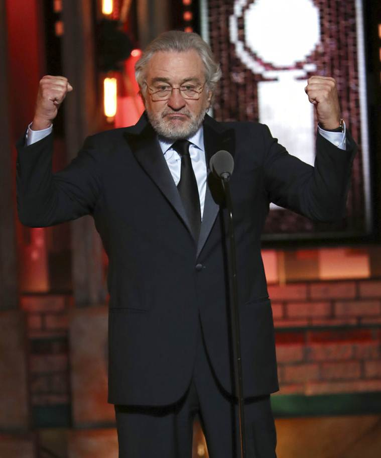 Robert De Niro at Tony Awards.