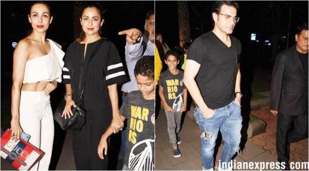 arbaaz khan with family