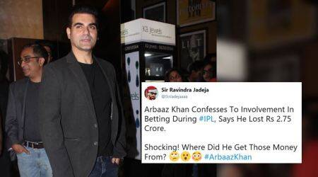 Twitterati slam Arbaaz Khan after he confesses to betting on IPL matches