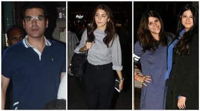 Arbaaz Khan, Malaika Arora, Anushka Sharma