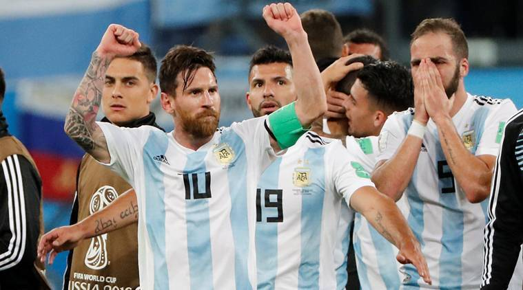 Sampaoli sure Argentina can find feet against France
