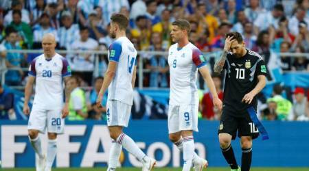 FIFA World Cup 2018: Lionel Messi misses penalty as Iceland hold Argentina