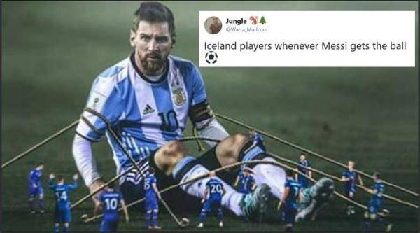 argentina, Lionel Messi, iceland,vikings, arventina vs iceland, argentina vs iceland memes, argentina vs iceland jokes, football memes, FIFA world cup 2018, viral news, football news, indian express