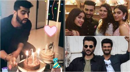 Happy Birthday Arjun Kapoor: Janhvi, Anshula, Sonam, Anil Kapoor shower love on theactor