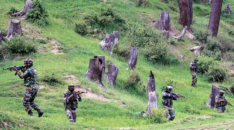 Kupwara encounter, Jammu and Kashmir, Shopian blast, Army, Kashmir militant, J-K, Kashmir unrest, Indian Express news