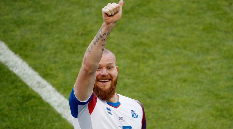2838a29a1 Aron Gunnarsson said Iceland respected their more illustrious opponents but  weren t in awe of the likes of Messi. (Source  Reuters)
