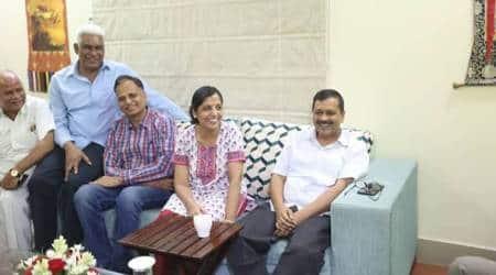 After nine days, Delhi CM Arvind Kejriwal ends L-G office sit-in, officers back at work