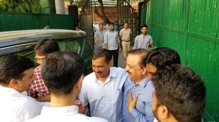 Deadlock ends as Delhi CM Arvind Kejriwal calls off nine-day sit-in at L-G's residence, AAP terms it 'victory of democracy'