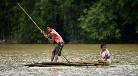 Flood situation remains grim in Assam, casts shadow onNRC