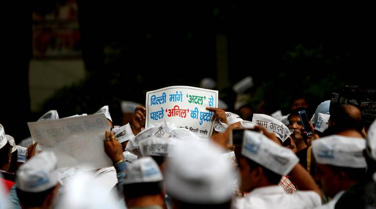 Posters with Atal reference put AAP on the defensive