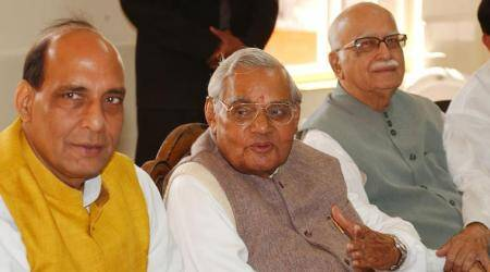 Rajnath Singh visits Vajpayee at AIIMS, former PM's condition 'stable'