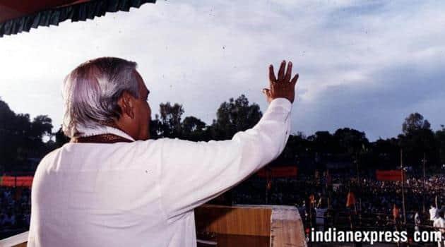 Atal Bihari Vajpayee, Atal Bihari Vajpayee photos, Vajpayee rare photos, Vajpayee health, Vajpayee death, BJP leader Vajpayee, Former Prime Minister, AIIMS, India news, Indian Express news