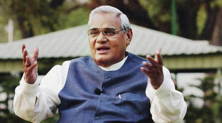 Former prime minister Atal Bihari Vajpayee.