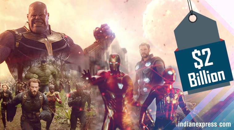Avengers: Infinity War Box Office Hits $2 Billion Worldwide