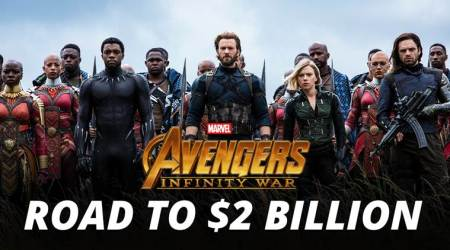 Avengers Infinity War's journey to 2 billion dollars