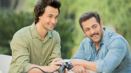 Ayush Sharma and Salman Khan picture.
