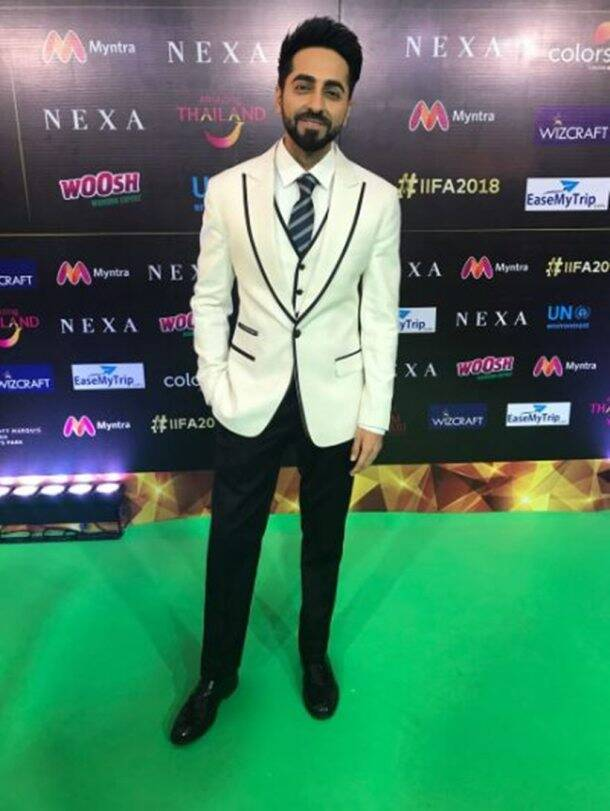 ayushmann khurrana at iifa awards 2018