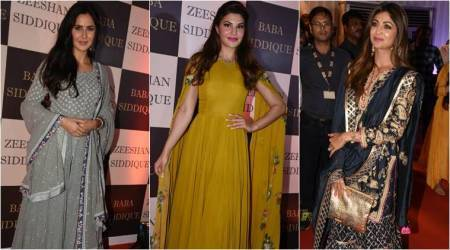 Baba Siddique's Iftar party: Katrina, Jacqueline, Shilpa show how to give your ethnic wardrobe a trendsetting make-over with these outfits
