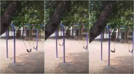 WATCH: This viral video of a 'haunted swing' has scared Netizens