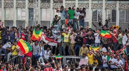 1 dead after attack at huge rally for Ethiopia's new Prime Minister