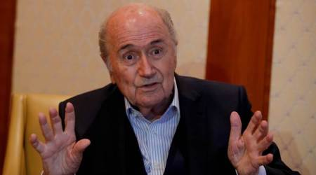 "Banned FIFA chief Sepp Blatter attends match: ""It's my World Cup"""