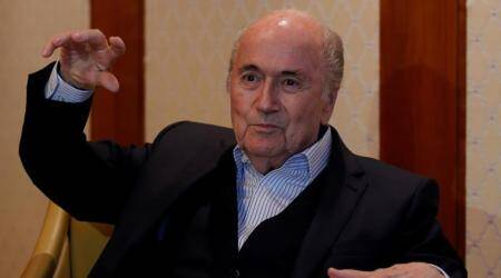Sepp Blatter, Sepp Blatter FIFA, FIFA Sepp Blatter, FIFA World Cup 2018, sports news, football, Indian Express
