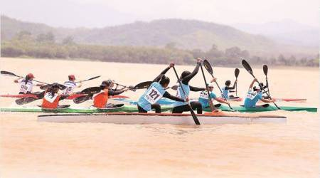 Haryana win gold in 200 m Dragon Boat mixed team race