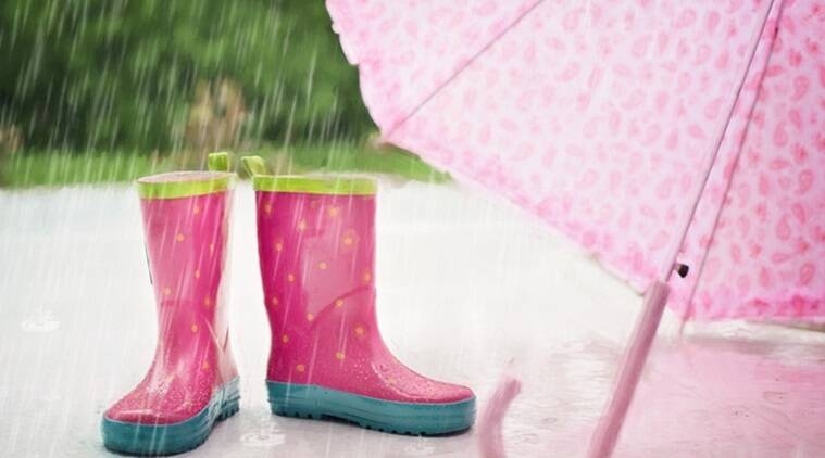 monsoon fashion, rain must-haves, monsoon trends, wellies, pvc, rain coats, florals, polka dots, Indian Express, Indian Express News