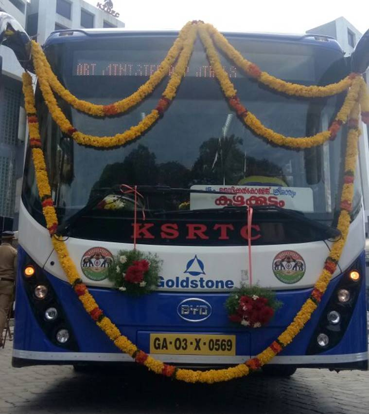 Kerala rolls out electric A/C buses on trial basis in three cities