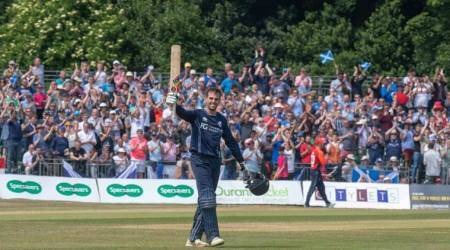 Calum MacLeod hammers fastest ODI hundred for Scotland, shatters records