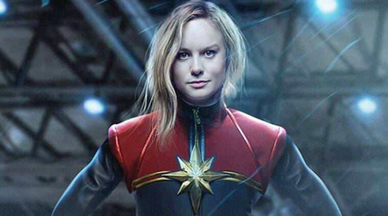 Captain Marvel First Look Brie Larson As The New Marvel Superhero