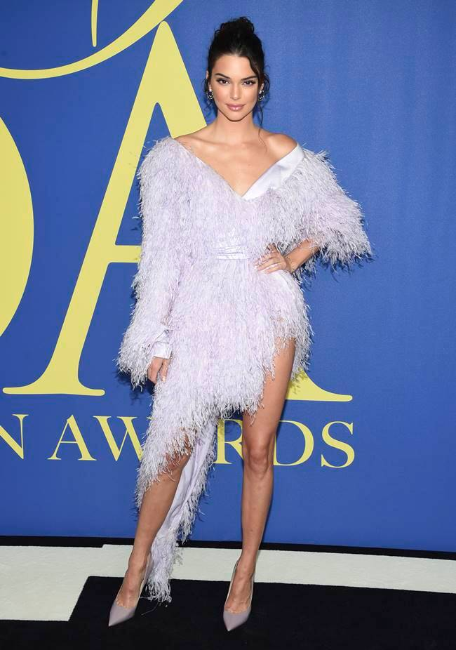 Fashion Design Council of America Awards, CFDA Awards, naomi campbell cfda, Gigi hadid cfda, kim kardashian cfda, kendall jenner cfda, winnie harlow cfda, indian express, indian express news