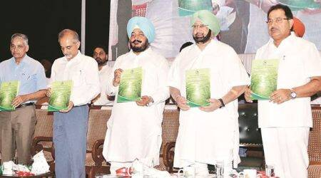 mission tandarust punjab, amarinder singh, amarinder in mohali, world environment day, punjab pollution