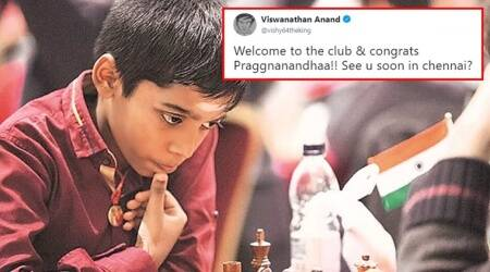 R Praggnanandhaa, R Praggnanandhaa grandmaster, youngest grandmasters world, youngest grandmasters india, vishvanathan anand, chess news, sports news