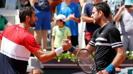 French Open 2018: Juan Martin Del Potro powers past Marin Cilic to set up Rafa Nadal clash