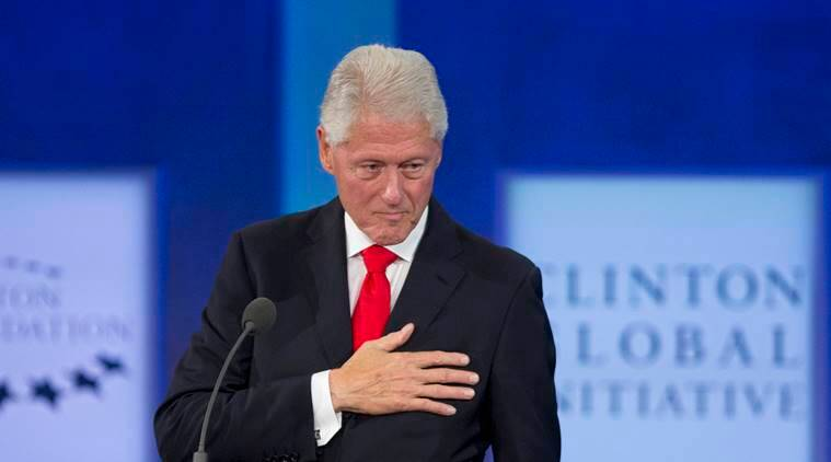 bill clinton, bill clinton book, bill clinton, james patterson book, the president is missing book, indian express, indian express news