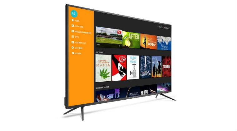 CloudWalker Cloud TV X2 4K Ready televisions launched inIndia