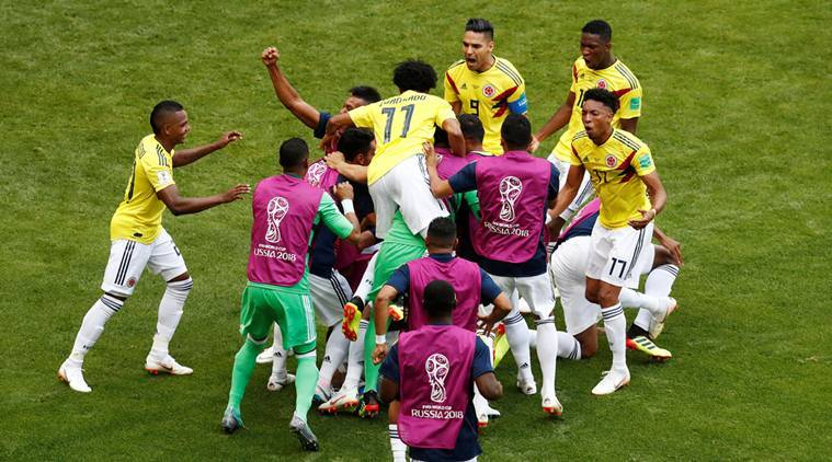 colombia vs japan live score fifa world cup live