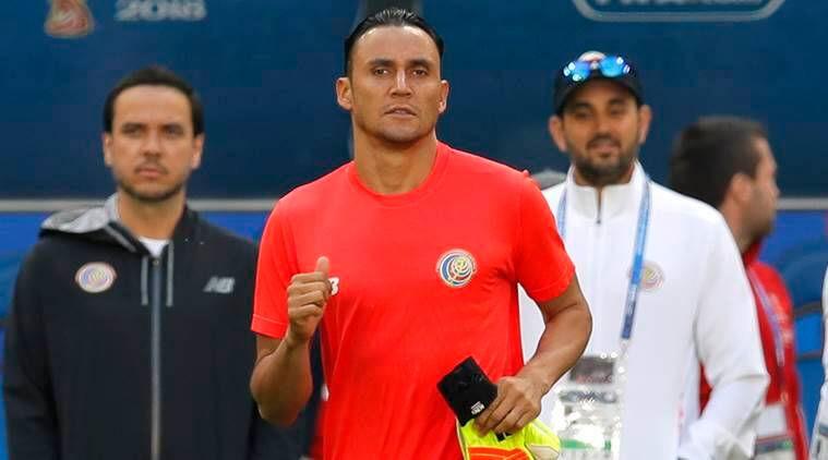 Costa Rica goalkeeper Keylor Navas is ready for the challenge against Serbia in the Samara Arena in Samara